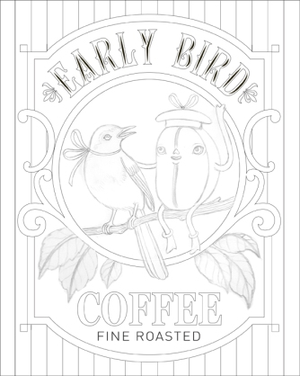 early bird outlines